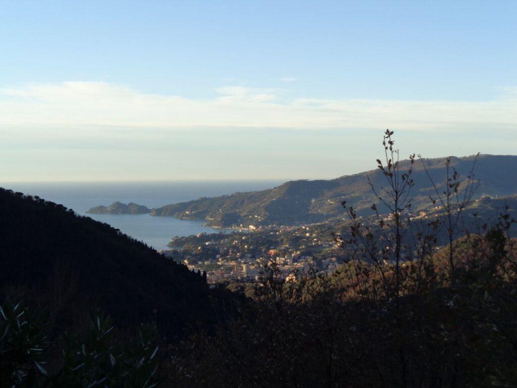 Vista del Golfo di Rapallo dal Monastero